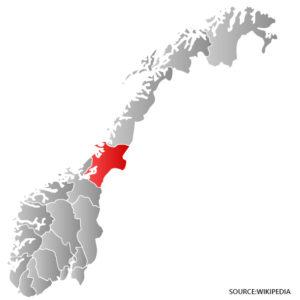 Nord Trondelag Kart Veikart Over Norge
