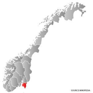 Ostfold Kart Veikart Over Norge