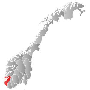 Rogaland Kart Veikart Over Norge